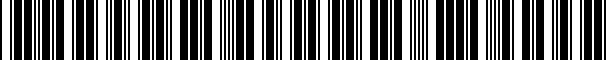 Barcode for scaletableGEN2