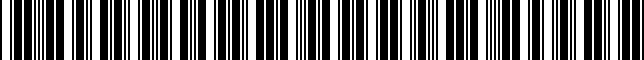 Barcode for thandlesocket10