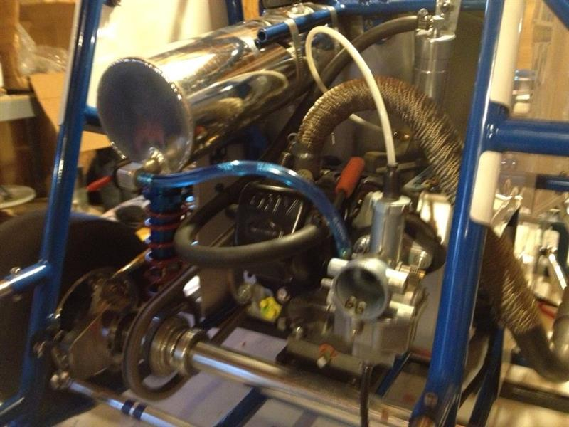 Engine midget part quarter